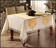 Кухонный текстиль (скатерти,  салфетки,  фартуки,  прихватки и др)